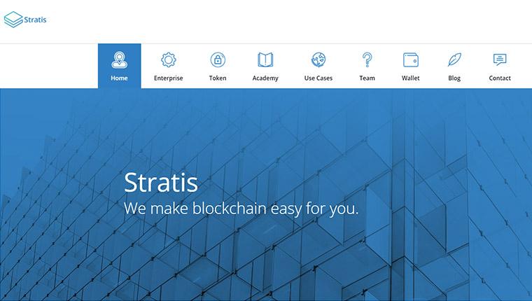 Stratis(ストラティス)の歴史について
