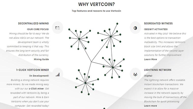 Vertcoin(ヴァートコイン)の特徴とは?