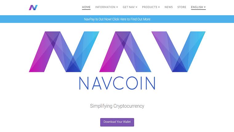 NAV Coin(ナビコイン/NAV)