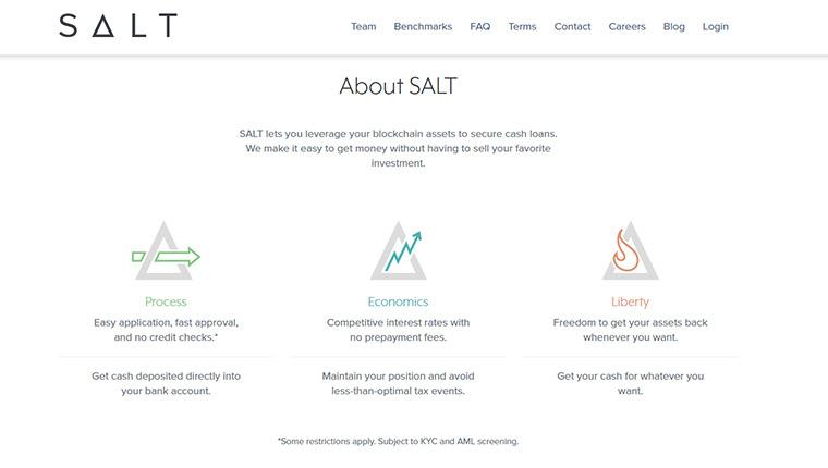 SALT(ソルト/SALT)の歴史について