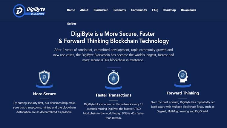 DigiByte(デジバイト/DGB)の歴史について