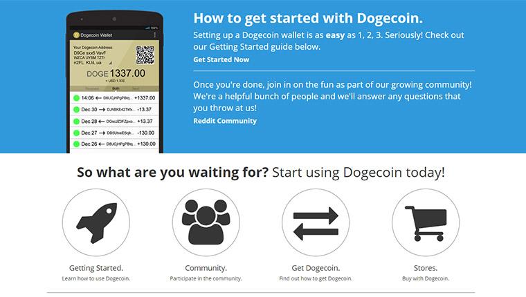 Dogecoin(ドージコイン/DOGE)の歴史について