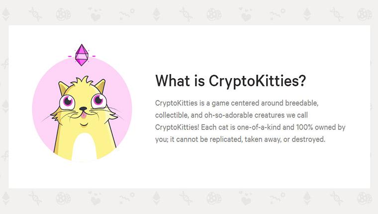 CryptoKitties(クリプトキティーズ)の概要